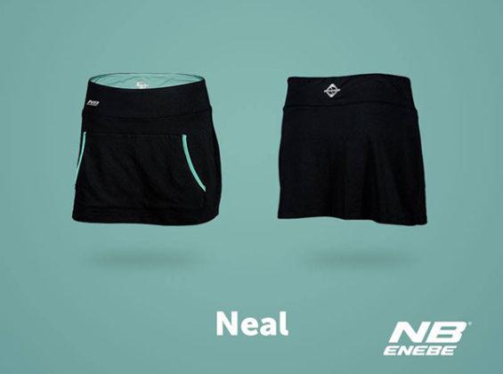 Falda Neal Skirt negra