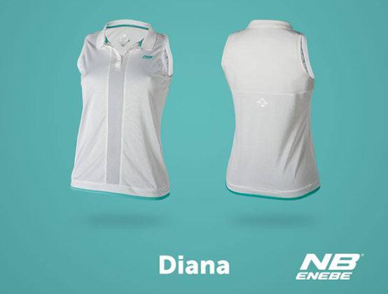 Camiseta de tirantes Diana blanca