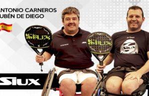 Antonio Carneros y Rubén de Diego, últimos fichajes Siux en pádel adaptado