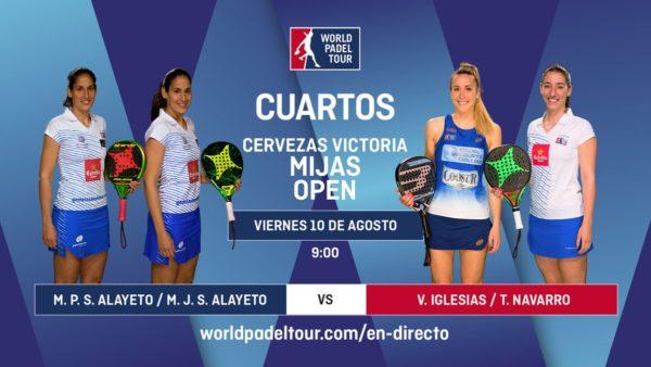 Foto de World Padel Tour - En directo los cuartos de final femeninos del Cervezas Victoria Mijas Open 2018