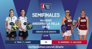 Imagen de World Padel Tour - streaming semifinales Andorra La Vella Open 2018