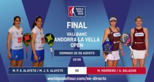 En directo las finales del Vallbanc Andorra La Vella Open 2018