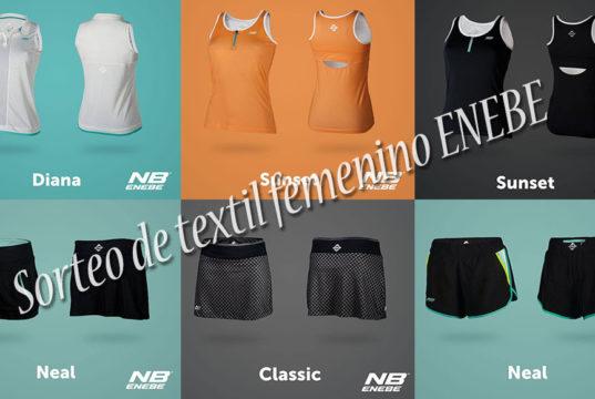 Sorteo de textil femenino de ENEBE Padel