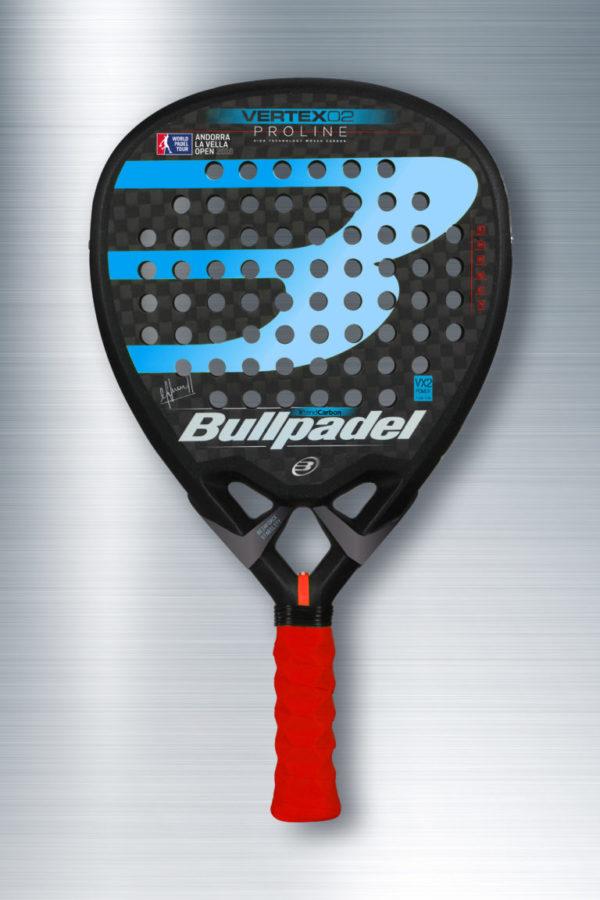 Bullpadel Vertex 02 Edición Limitada WPT Andorra