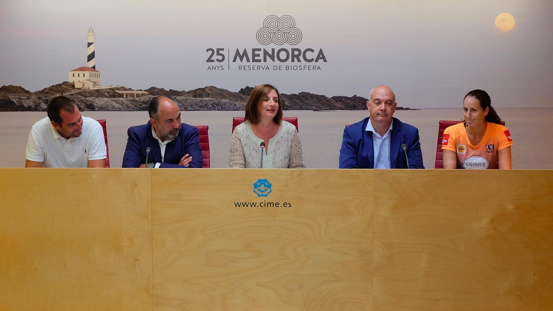 Menorca formará parte del circuito World Padel Tour durante los próximos cuatro años