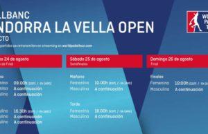Imagen de World Padel Tour - Horarios del streaming del Vallbanc Andorra La Vella Open 2018