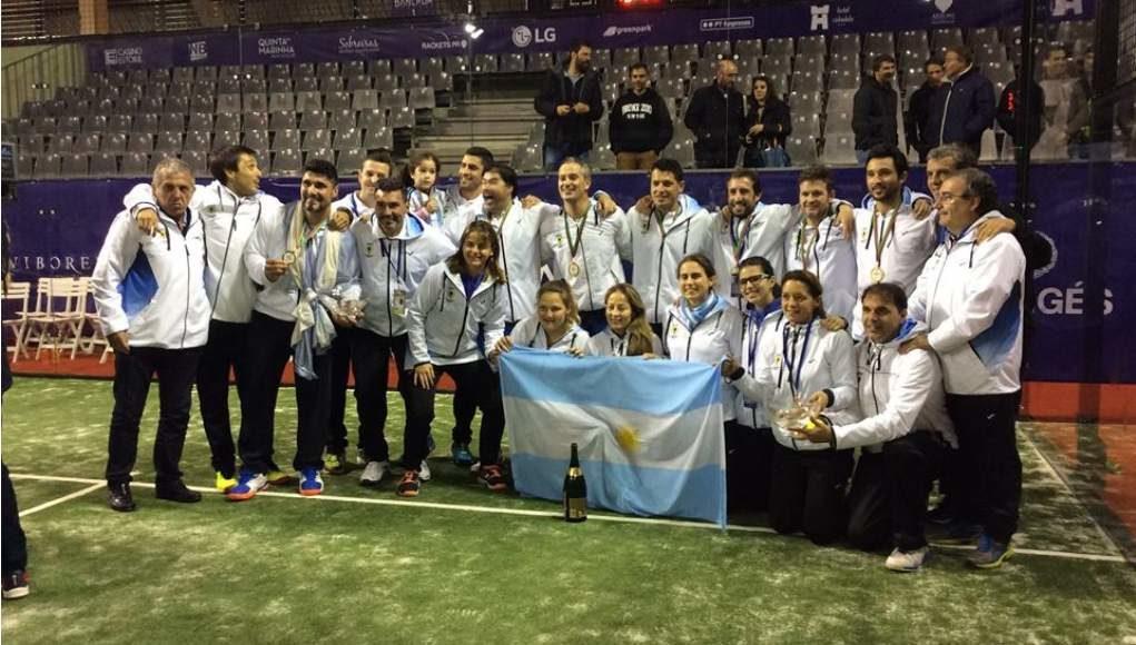 Convocatoria de Argentina para el Mundial de Pádel 2018