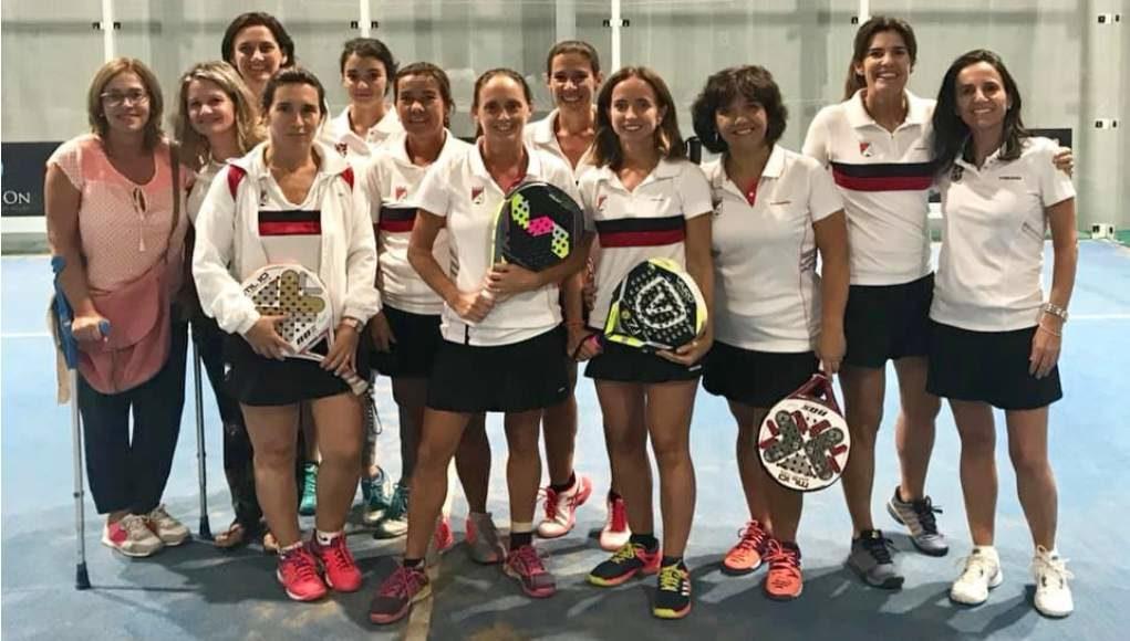 Aranguren Pádel Club en chicos y Club Tenis Pamplona en chicas, campeones navarros por equipos absolutos de 3ª categoría