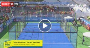 En directo los octavos de final del Oeiras Valley Portugal Padel Masters