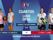 Imagen de World Padel Tour - streaming cuartos de final femeninos del Lugo Open 2018