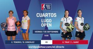 Imagen de World Padel Tour - streaming cuartos de final femeninos del Lugo Open 2018