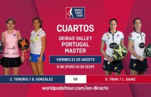 Imagen de World Padel Tour - streaming de la jornada matinal de los cuartos de final del Portugal Padel Masters