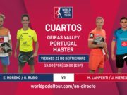 Imagen de World Padel Tour - streaming jornada de tarde de los cuartos de final del Portugal Padel Masters
