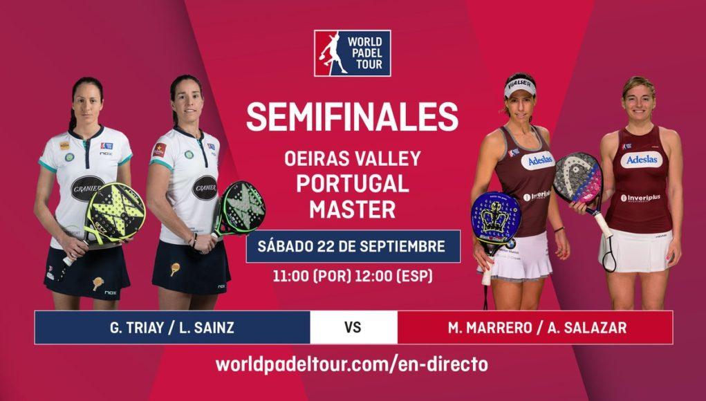 Imagen de World Padel Tour - Streaming de las semifinales del turno de mañana del Portugal Padel Masters