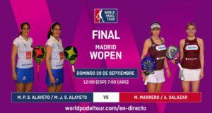Imagen de World Padel Tour - Sigue en directo la final del Madrid WOpen 2018