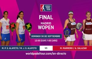Imagen de World Padel Tour - Sigue en directo la final del Madrid WOpen 2018