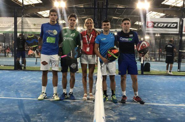 ON SANZ ZALBAlogra un meritorio subcampeonato en la categoría Junior delCAMPEONATO DE ESPAÑA DE MENORES POR PAREJAS 2018