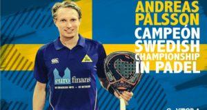 Andreas Palsson, campeón de Suecia 2018
