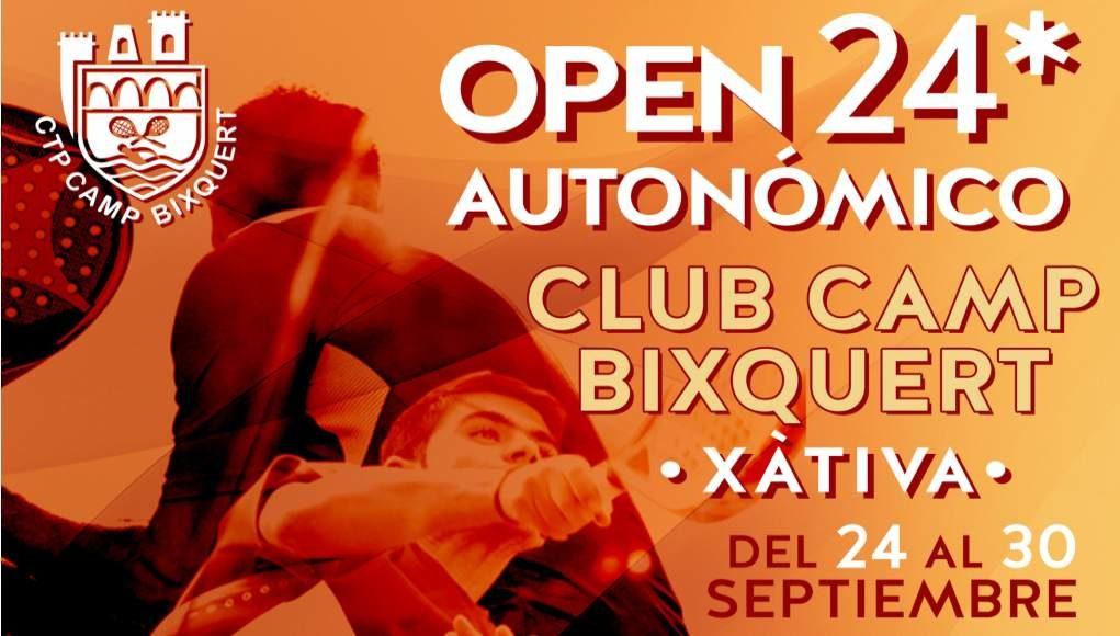 En directo las finales del Open autonómico 24* Camp Bixquert