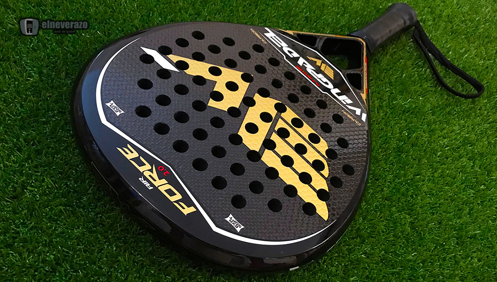 Análisis de la pala Wingpadel Air Force 2.0