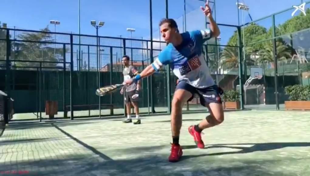 Paquito Navarro y Pablo Lima preparan el Bilbao Open