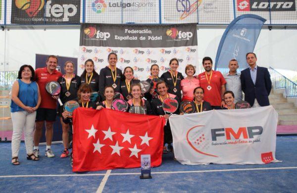 Campeonas de España por Selecciones Autonómicas