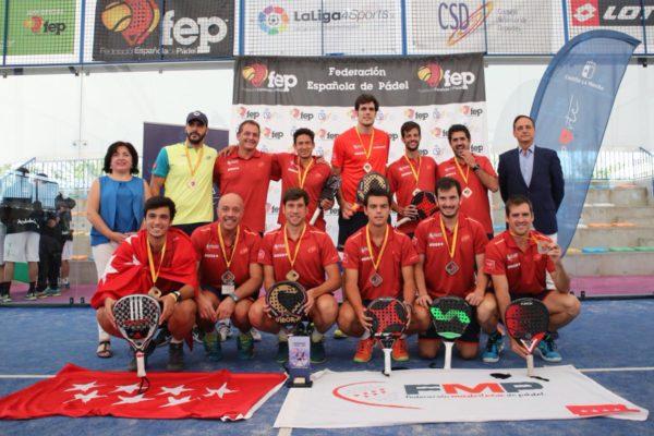 Campeones de España por Selecciones Autonómicas