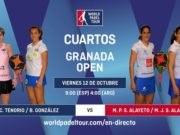 Imagen de World Padel Tour - streaming cuartos de final femeninos del Granada Open