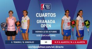 Imagen de World Padel Tour - streaming cuartos de final femeninos del Granada Open