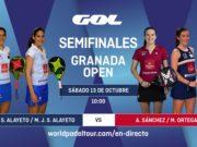 Imagen de World Padel Tour- Streaming de las semifinales del turno de mañana del Granada Open 2018