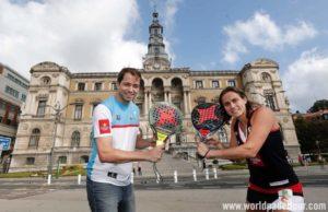 Presentación del World Padel Tour Bilbao Open 2018