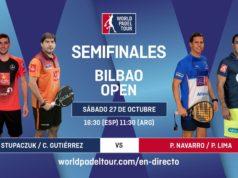 En directo las semifinales del turno de tarde del World Padel Tour Bilbao Open 2018