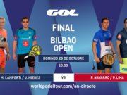 En directo las finales del Bilbao Open