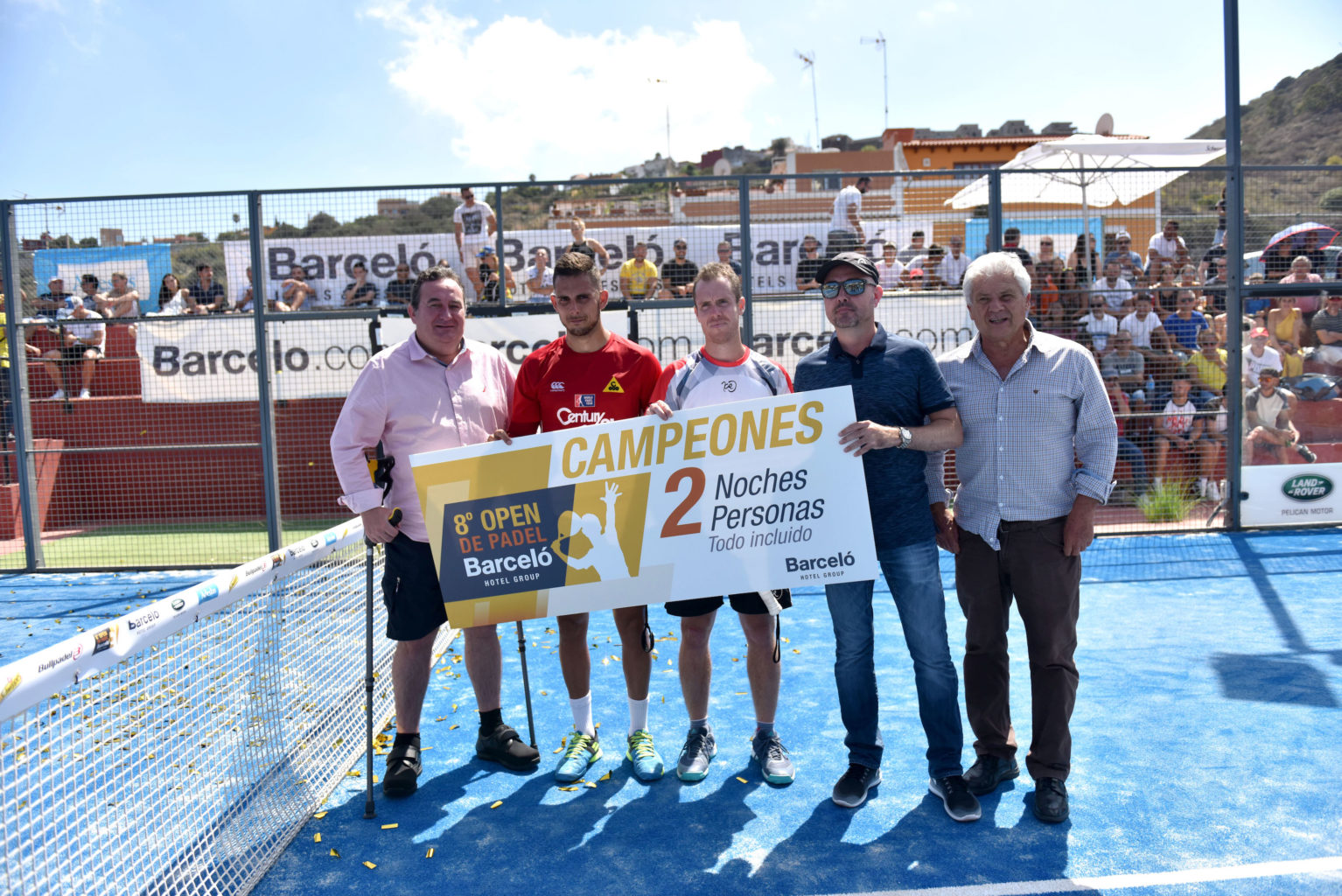 Campeones Open de Pádel Barceló Hotel Group