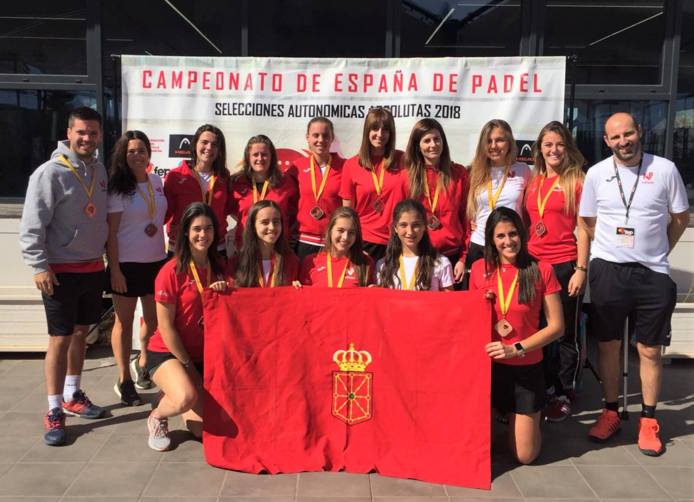Medalla de bronce para nuestras selecciones absolutas en la 2ª categoría del Campeonato de España por Comunidades Autónomas 2018