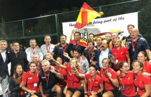 Foto de la FEP - España se proclama campeona del Mundo de Veteranos