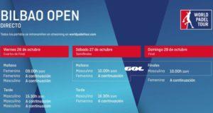 Imagen de World Padel Tour - Horarios del streaming del World Padel Tour Bilbao Open 2018