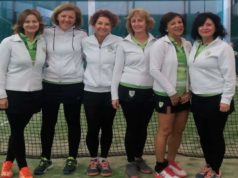 Club Tenis Pamplona y CD Oberena, campeones y campeonas de la Copa Reyno de Navarra por Equipos de Veteranos 2018