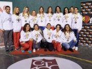El equipo femenino del Club Tenis Pamplona logra el ascenso en el Campeonato de España de Veteranos de 3ª categoría