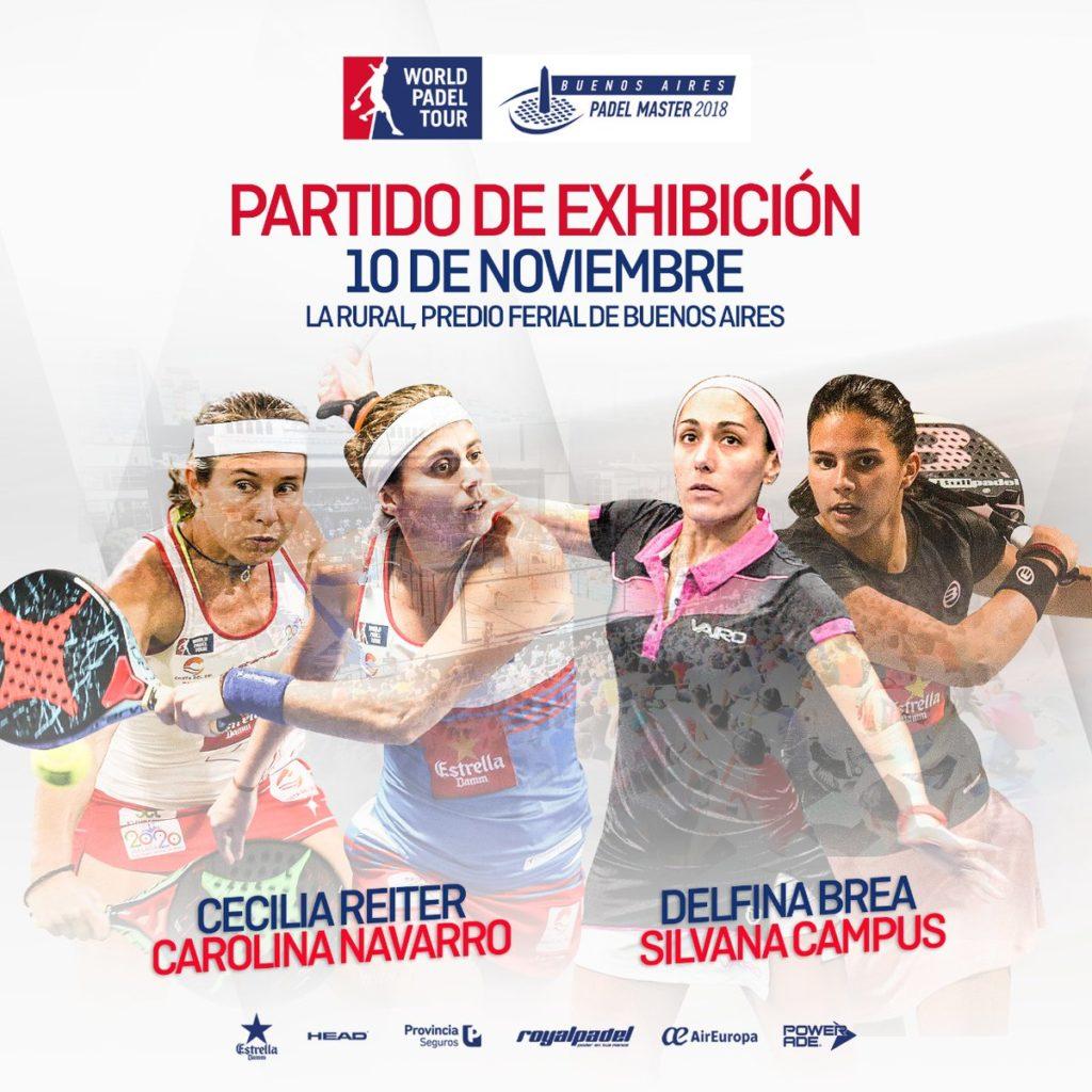 Imagen de World Padel Tour - Partido de exhibición Buenos Aires Padel Master 2018