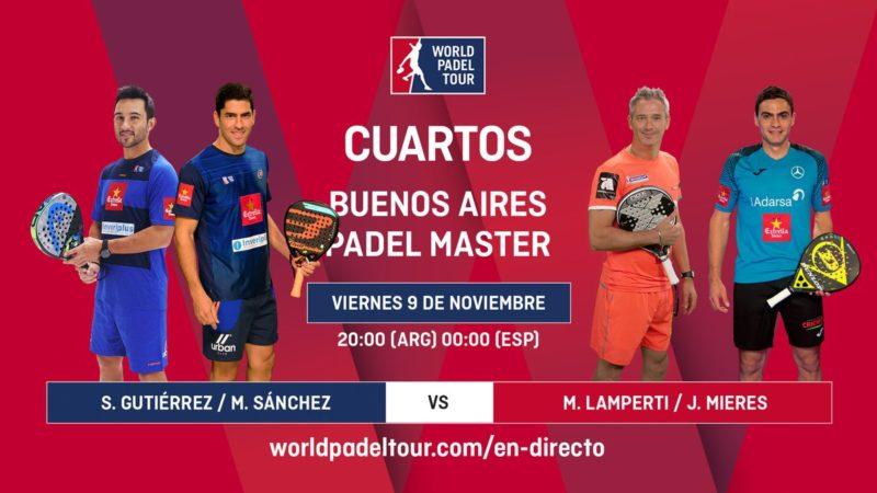 Imagen de World Padel Tour - En directo los cuartos de final del Buenos Aires Padel Master 2018