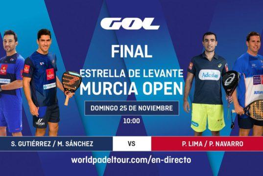 En directo las finales del Murcia Open