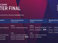 Horarios del streaming del Estrella Damm Master Final 2018