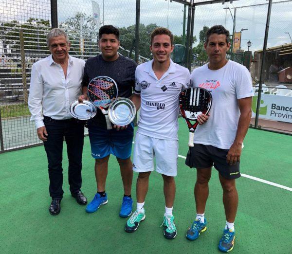 Leonel Aguirre y Agustín Gutiérrez se consagran como Maestros en la Padel Master Cup en Vicente López