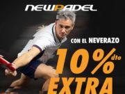 Descuento de 10% en todo el textil de NEWPADEL