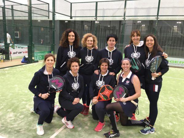 Club Tenis Pamplona e Itaroa Pablo Semprún Sport Center vencen en el Campeonato Navarro por equipos de clubes veteranos de pádel 2019