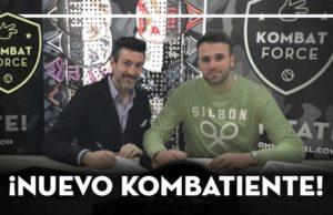 Rafa Méndez se une a la Kombat Force y formará pareja con Nacho Gadea