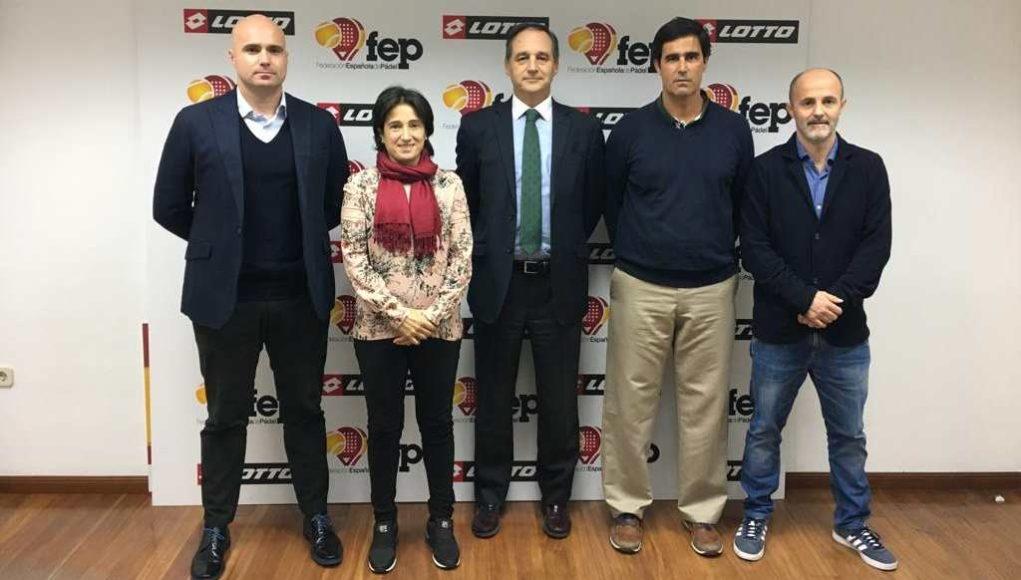 La Federación Española de Pádel presenta a sus Seleccionadores