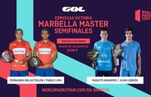 En directo las semifinales del Cervezas Victoria Marbella Master 2019