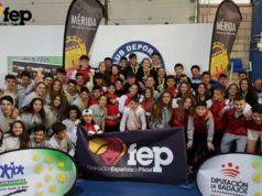 CLUB FIT POINT campeón de 1ª y 2ª categoría de cadetes en el Campeonato de España por Equipos de Menores